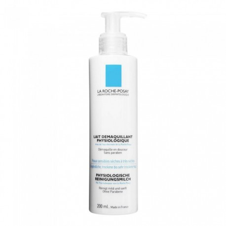 La Roche-Posay LAIT DEMAQUILLANT Physiologique 200 ml