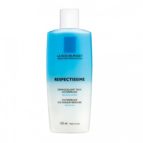 LA ROCHE-POSAY RESPECTISSIME Dà‰MAQUILLANT YEUX WATERPROOF TUBE 125ML