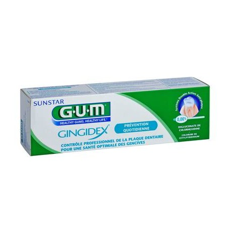 GUM GINGIDEX PATE DENT TB75ML