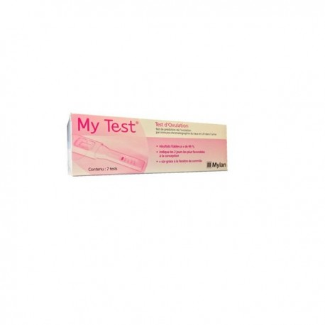MY TEST OVULATION 7