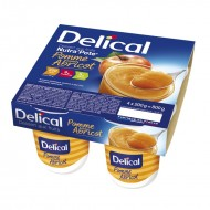 DELICAL NUTRA'POTE Pomme Saveur Abricot 4 X  200G