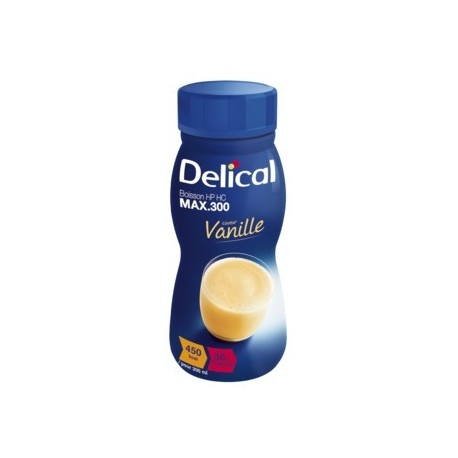 DELICAL BOISSON HP HC Vanille Pack/4x300ml