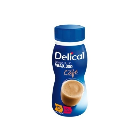 DELICAL BOISSON LACTEE HP HC MAX Café Pack/4x300ml