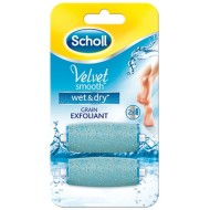 Scholl Velvet Smooth Wet&Dry recharges x2