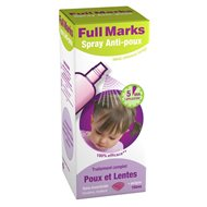 Full Marks Spray Anti-Poux + Peigne 150ml