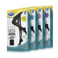SCHOLL COLLANTS LL 60DN BLACK S