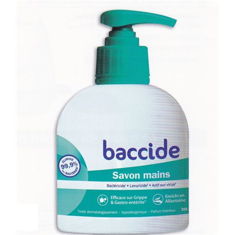 BACCIDE SAVON MAIN ANTIBACTERIEN 300 ML