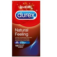 DUREX NATURAL SENSATION SANS LATEX BT10